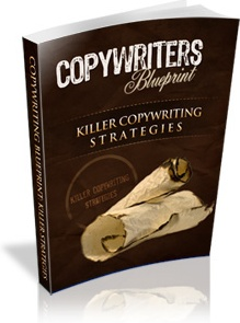 Ebook cover: The Copywriters Blueprint