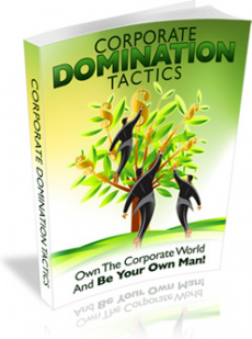 Ebook cover: Corporate Domination Tactics
