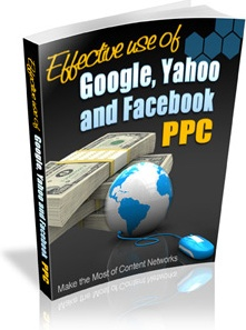 Ebook cover: Effective use of Search Engines and PPC
