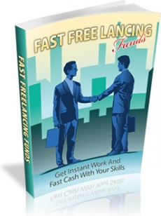 Ebook cover: Fast Freelancing Funds