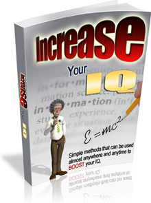 Ebook cover: How to Increase Your IQ