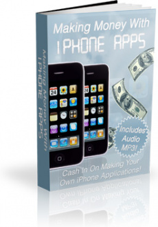 Ebook cover: Making Money With iPhone Apps