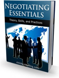 Ebook cover: Negotiating Essentials!