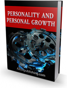 Ebook cover: Personality and Personal Growth!