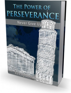Ebook cover: The Power of Perseverance!