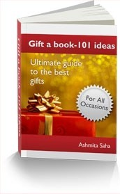 Ebook cover: Gift a Book: 101 ideas- Ultimate guide to the best gifts
