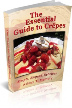Ebook cover: The Essential Guide to Crepes