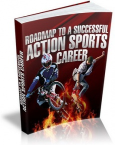 Ebook cover: Roadmap to a Successful Action Sports Career