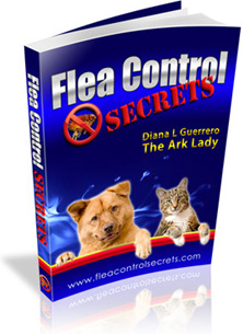 Ebook cover: Flea Control Secrets