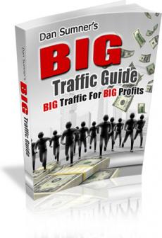 Ebook cover: Big Traffic Guide