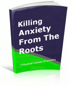 Ebook cover: Killing Anxiety From The Roots