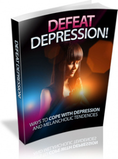 Ebook cover: Defeat Depression!
