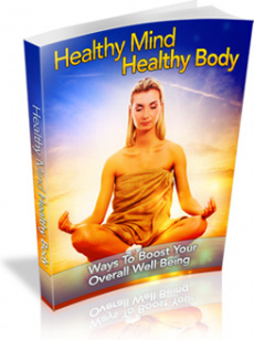 Ebook cover: Healthy Mind Healthy Body