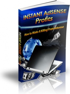Ebook cover: Instant Adsense Profits