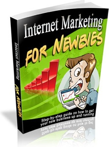 Ebook cover: Internet Marketing for Newbies