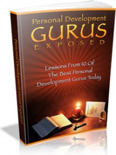 Ebook cover: Personal Development Gurus Exposed