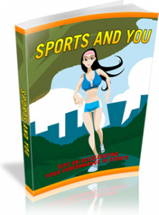 Ebook cover: Sports And You