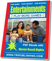 Ebook cover: Entertainments for Home, Church, and School