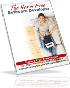 Ebook cover: The Hands Free Software Developer