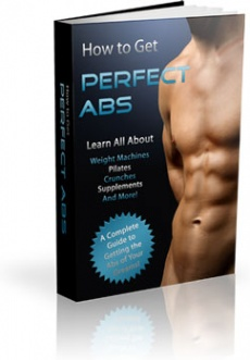 Ebook cover: How to Get Perfect Abs