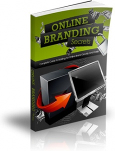 Ebook cover: Online Branding Secrets