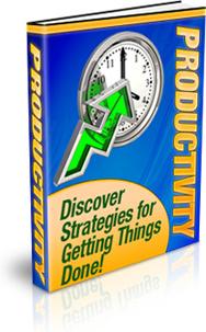 Ebook cover: Productivity