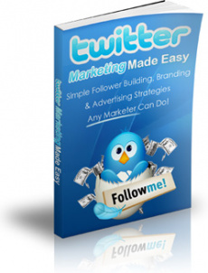 Ebook cover: Twitter Marketing Made Easy