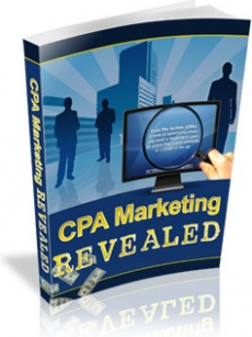 Ebook cover: CPA Marketing Revealed