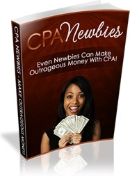 Ebook cover: CPA Newbies: Simple Tactics, Powerful Results