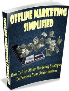 Ebook cover: Offline Marketing Simplified