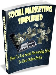 Ebook cover: Social Marketing Simplified
