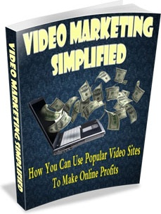 Ebook cover: Video Marketing Simplified