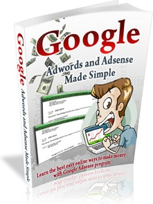 Ebook cover: Google Adwords and Adsense Made Simple