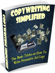 Ebook cover: Copywriting Simplified