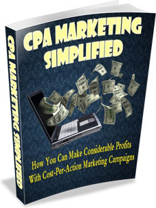 Ebook cover: CPA Marketing Simplified