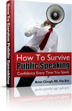 Ebook cover: How To Survive Public Speaking