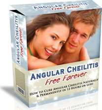 Ebook cover: Angular Cheilitis Free Forever
