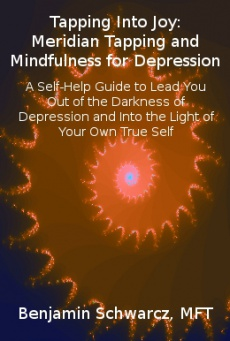 Ebook cover: Tapping Into Joy: Meridian Tapping and Mindfulness for Depression