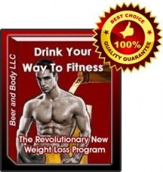 Ebook cover: Drink Your Way To Fitness! The Beer Lovers Guide To Rapid Fat Loss