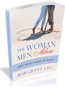 Ebook cover: The Woman Men Adore...and Never Want to Leave