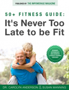 Ebook cover: It's Never Too Late to Be Fit