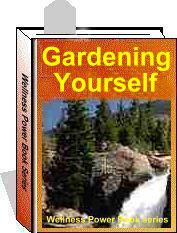 Ebook cover: Gardening Yourself, building the secret garden of your mind