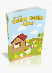 Ebook cover: Chicken Keeping Basics