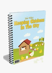 Ebook cover: Keeping Chickens In The City