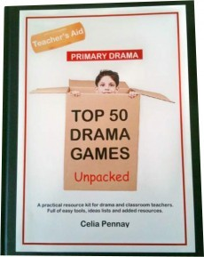 Ebook cover: TOP 50 DRAMA GAMES UNPACKED