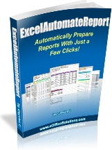 Ebook cover: Excel Automate Report