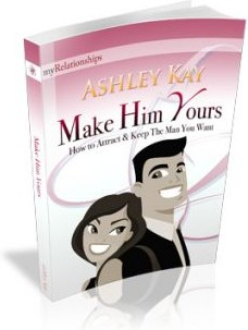 Ebook cover: Make Him Yours - How to Attract and Keep The Man You Want