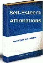 Ebook cover: Self-Esteem Affirmations