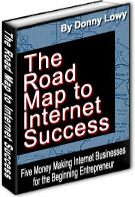 Ebook cover: The Road Map To Internet Success