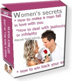 Ebook cover: Womens secrets : How to make a man fall in love, win back your ex